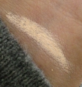 mac paint bare canvas swatch