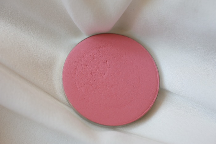 mac pinch o peach blush swatch