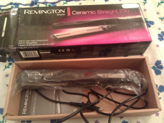 remington ceramic straight 230 hair straightener (3)