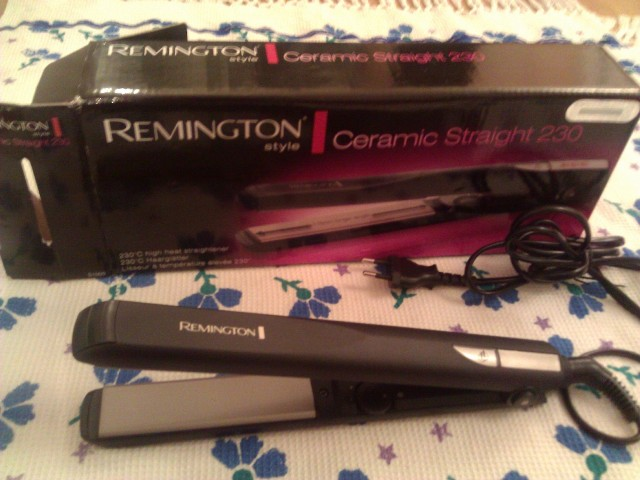 remington ceramic straight 230 hair straightener (6)