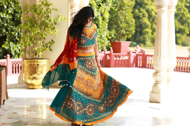 traditional rajasthani outfit