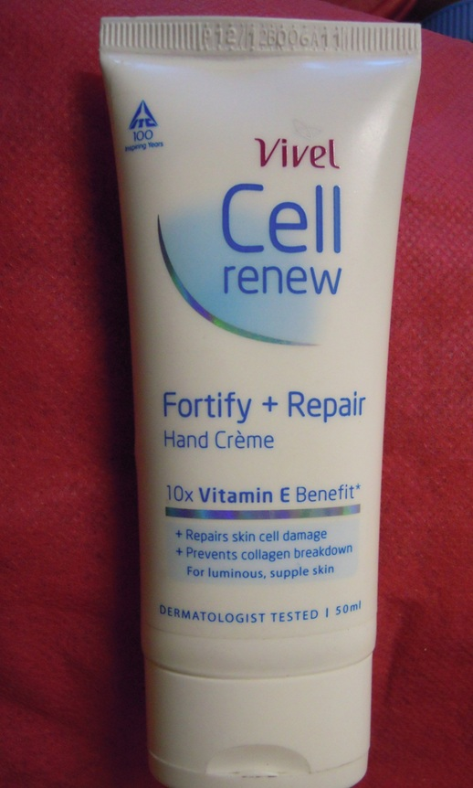 vivel cell renew hand Creme