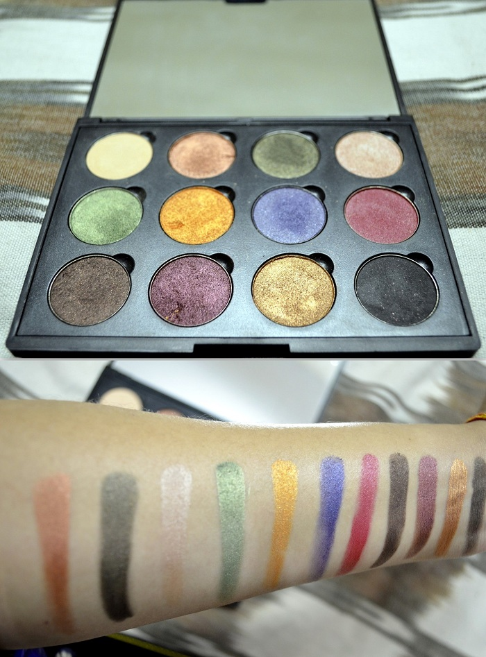 Coastal Scents Fall Festival Palette Swatches