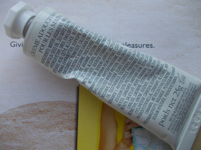 Crabtree&Evelyn Nantucket Biar Hand  therapy ingredients