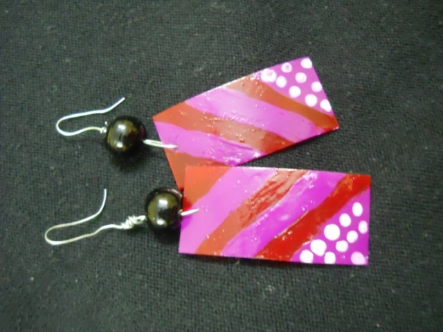 DIY price tag earrings (7)