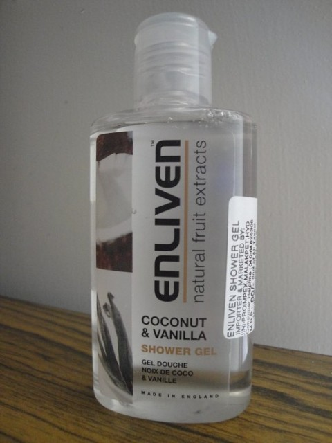 Enliven Coconut & vanilla shower gel