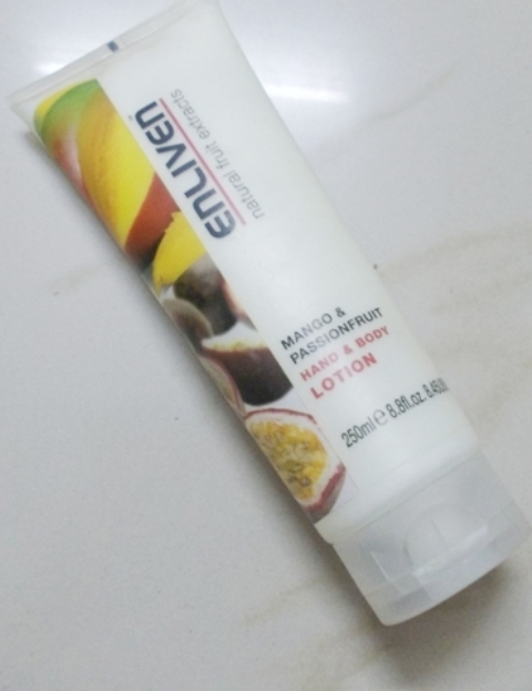 Enliven Mango & Passionfruit hand and body lotion (5)