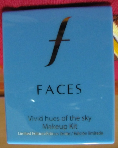 Faces Vivid Hues of The Sky Makeup Kit