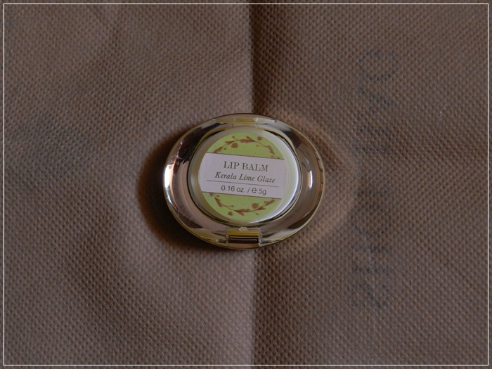 Forest Essentials Kerela Lime Glaze Lip Balm (4)