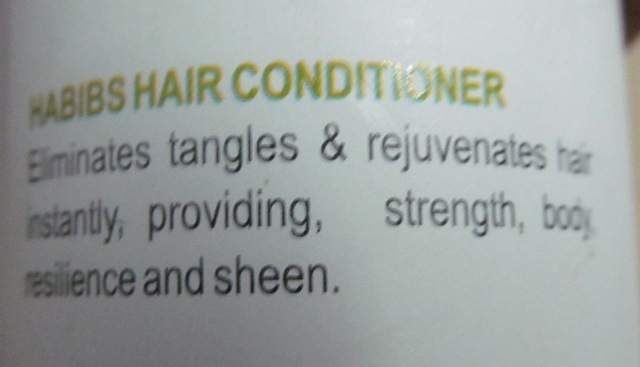 Habibs Aesthetics Hair Conditioner with Wheat Germ OIl (3)