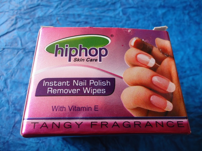 Hip Hop Instant Nail Polish Remover Wipes Review