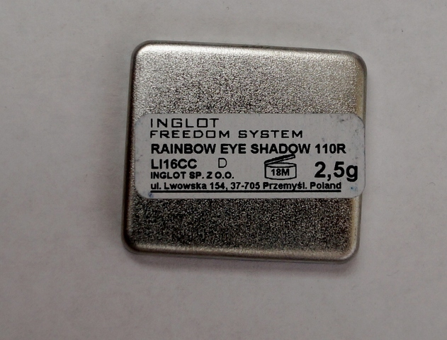Inglot Freedom System Rainbow Eyeshadow 110R (6)