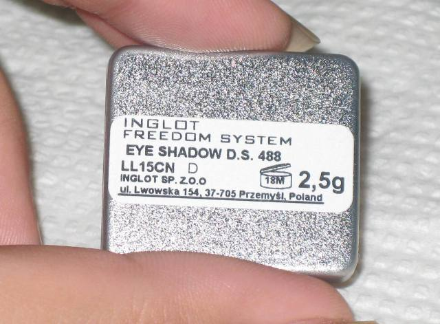 inglot freedom system eyeshadow