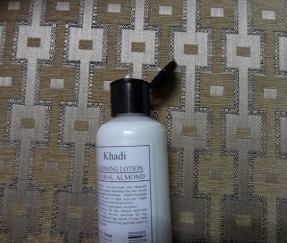 Khadi Natural Almond Cleansing Lotion Natural Almond