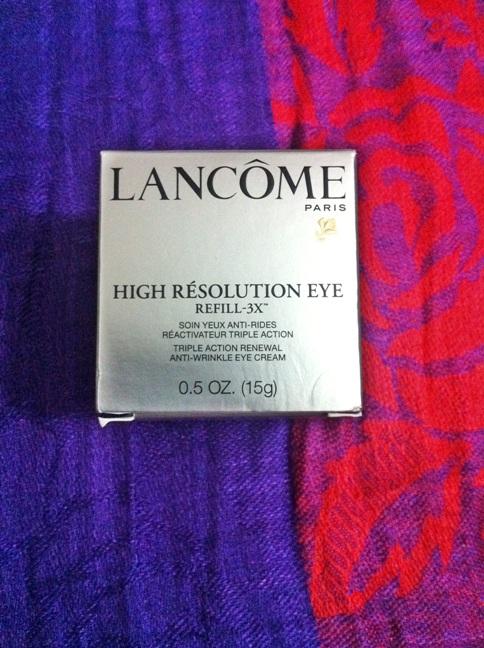 Lancome eye refill