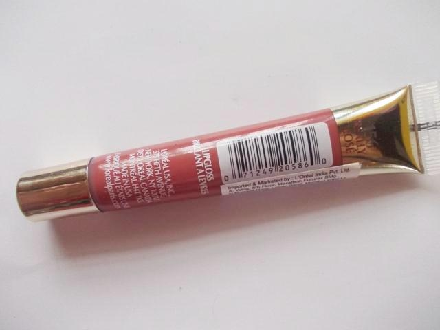 Loreal Color Riche Le Glosss really Rose (7)