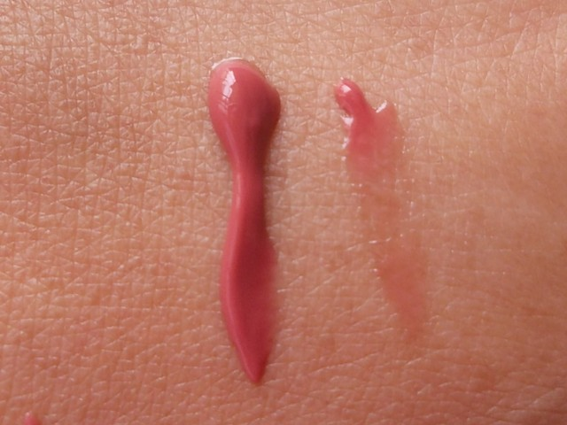 Loreal Color Riche Le Glosss really Rose swatches