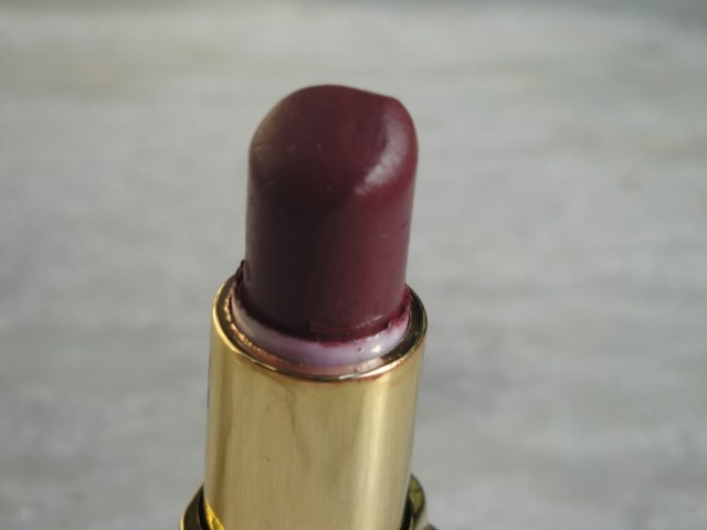 Lotus herbals pure colors lipstick Rose Madder (6)