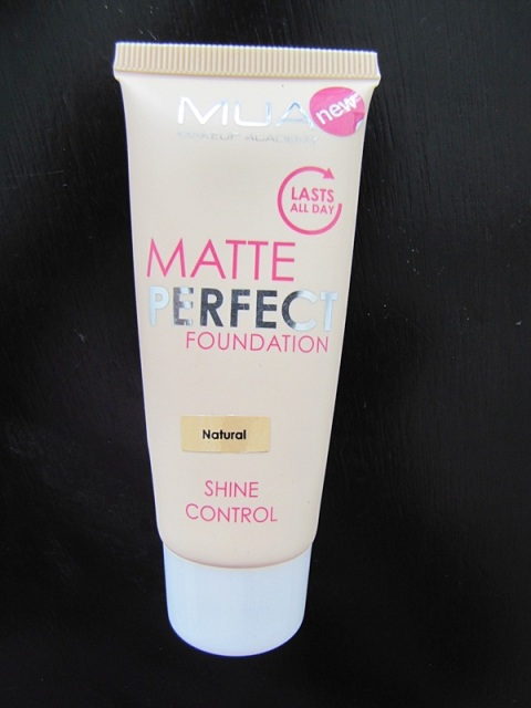 MUA Matte Perfect Foundation Natural
