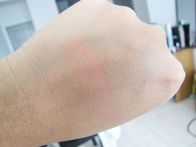 MUA Blusher Shade - 5 Swatches (2)