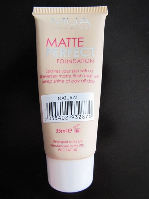 MUA Matte Perfect Foundation in Shade Natural 2