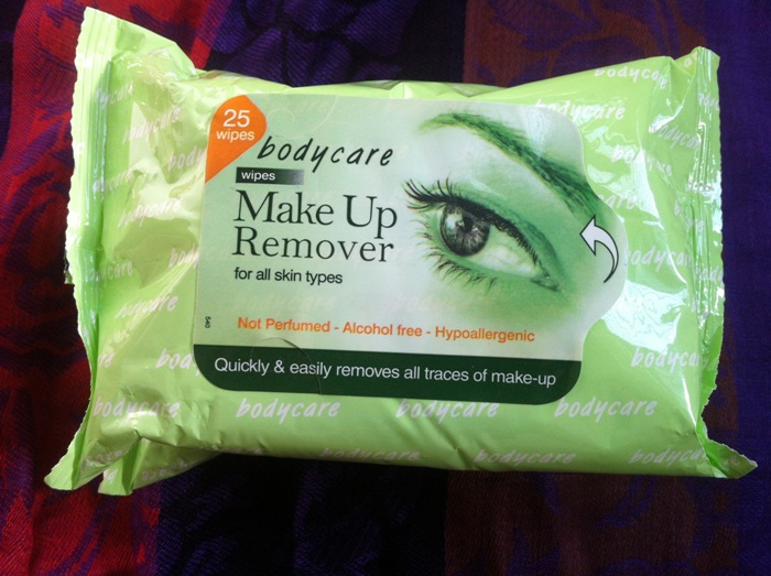 Make up removing Wipes