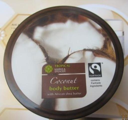 Marks&Spencer  Coconut body butter