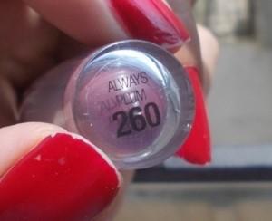 Maybelline super stay 14 hr lipstick always plum (2)