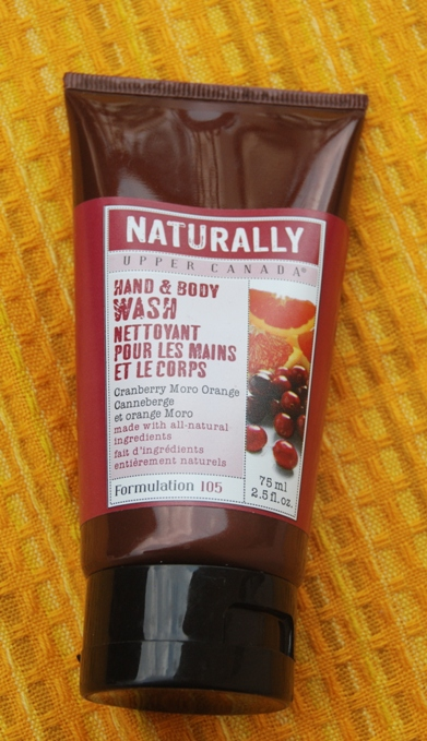 Naturally+Upper+Canada+Hand+and+Body+Wash+Cranberry+Moro+Orange.
