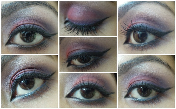 Red+and+Blue+Eye+Makeup+Tutorial