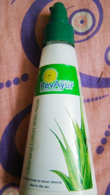 Revayur Cleansing Lotion with Aloe