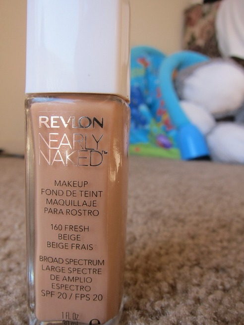 Revlon+Nearly+Naked+Makeup+Foundation+with+SPF+20+Review
