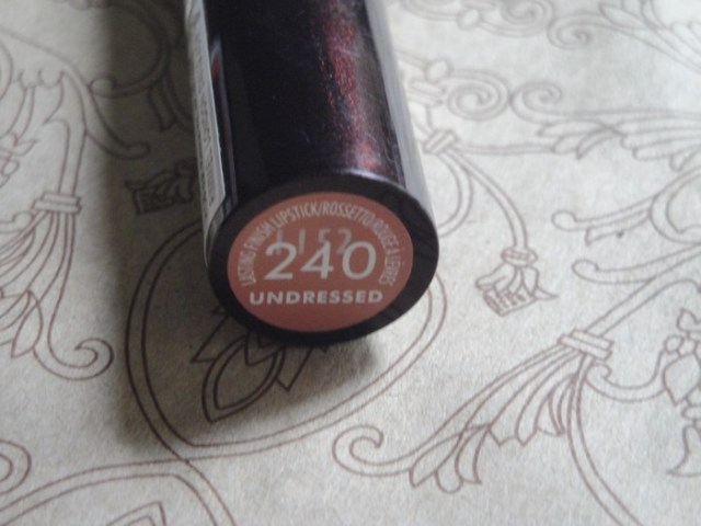Rimmel Lasting Finish Lipstick Undressed 3 Rimmel London Lasting Finish Lipstick   Undressed