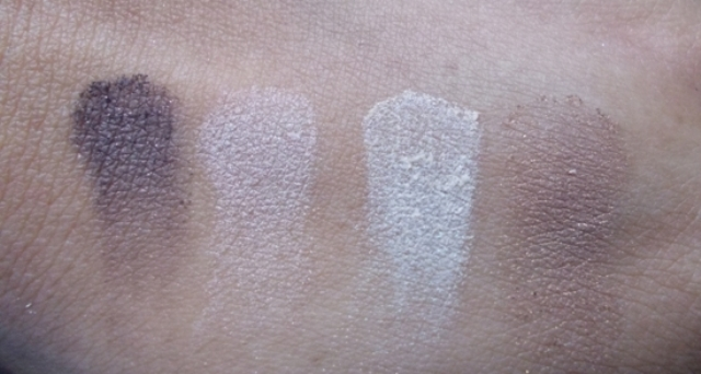 Rimmel London Glam Eyes Quad Eyeshadow 002 Smokey Brun (3)