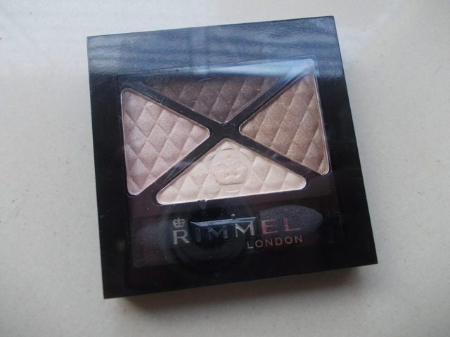 Rimmel London Glam Eyes Quad Eyeshadow 002 Smokey Brun (4)