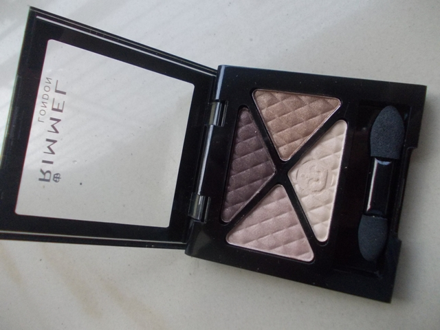 Rimmel London Glam Eyes Quad Eyeshadow 002 Smokey Brun (7)
