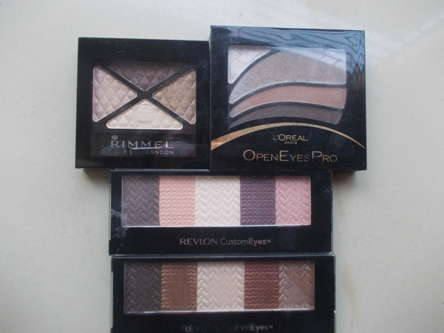 Rimmel London Glam Eyes Quad Eyeshadow 002 Smokey Brun (8)