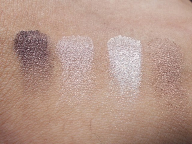 Rimmel London Glam Eyes Quad Eyeshadow 002 Smokey Brun swatches