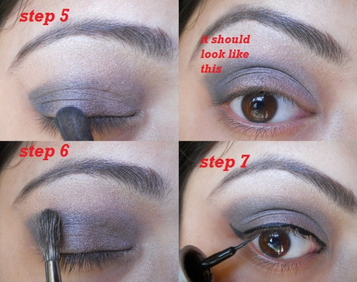 Smokey Eyes 5 Smokey Dark Grey and Green Eye Makeup Tutorial