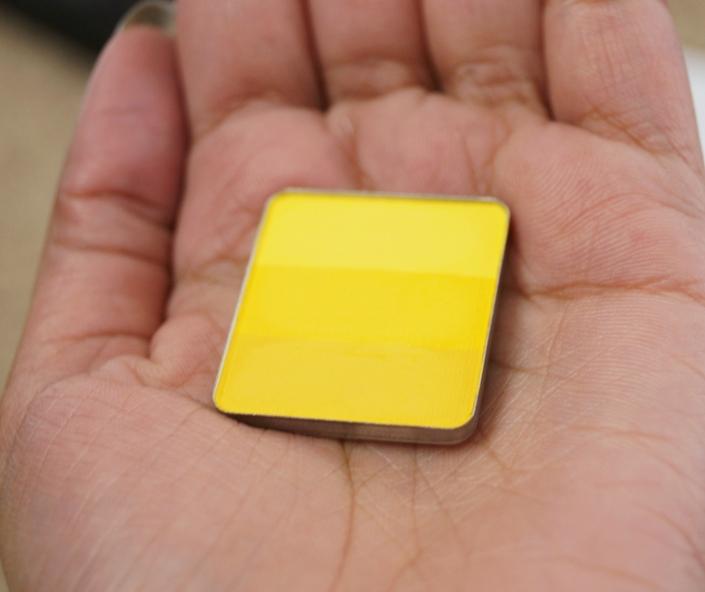 Yellow Eyeshadow  4