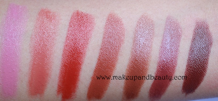 colorbar-brown-lipstick swatches