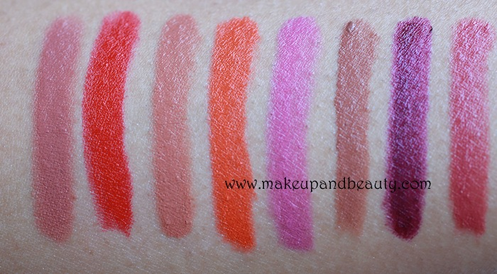 colorbar take me as i am lipstick swatches