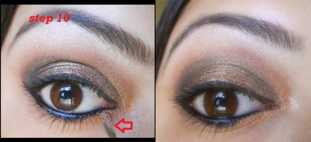 copper eye makeup tutorial 8 Copper Eye Makeup Tutorial