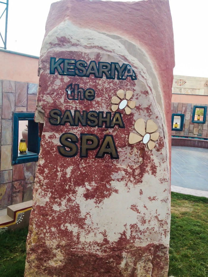 kesariya the sansha spa jaipur