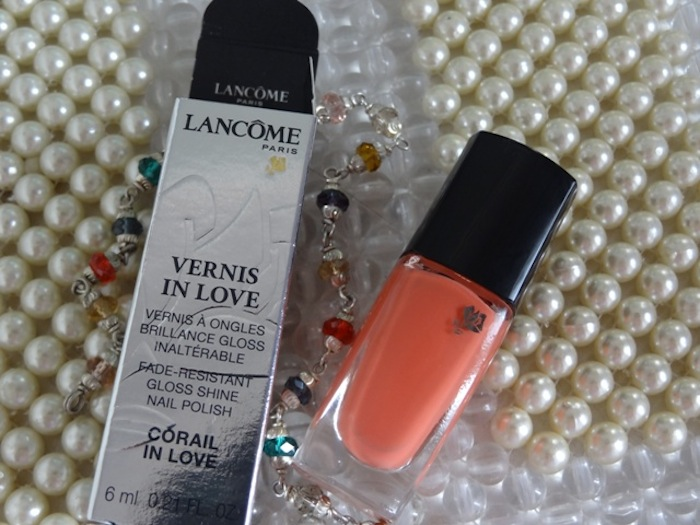 lancome vernis corail in love review
