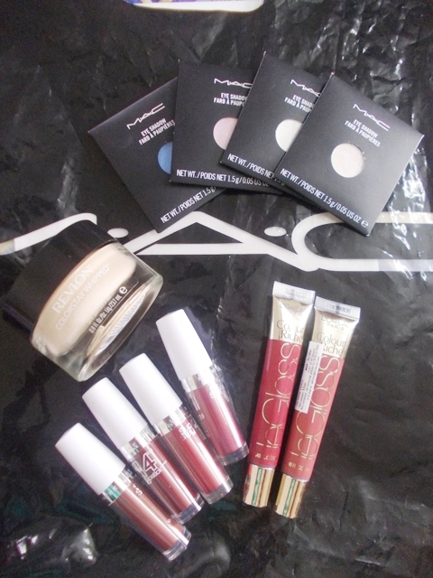 mac revlon maybelline loreal haul My Weekend MAC, Loreal, Maybelline, Revlon Haul :D