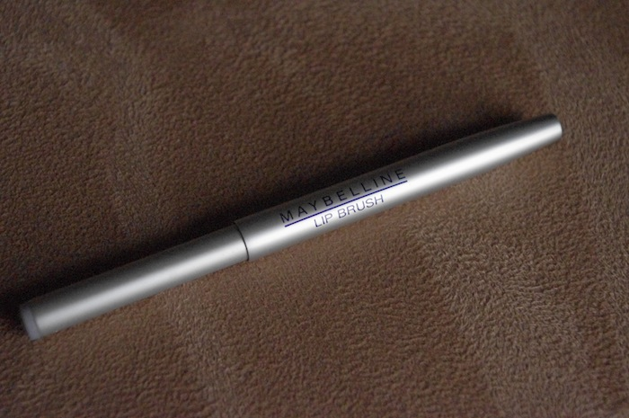 maybelline lip brush review
