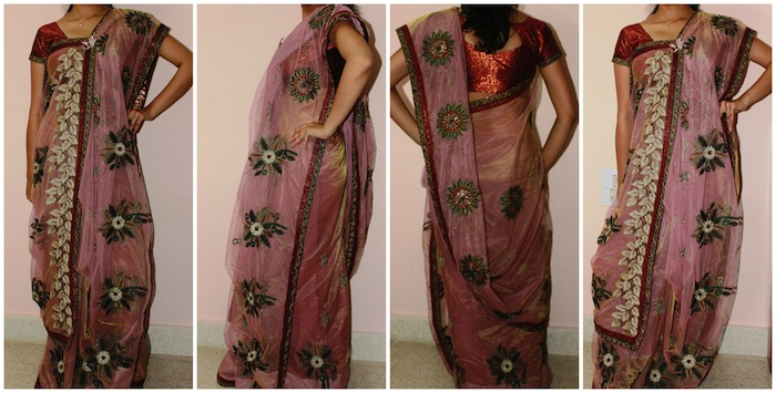 Bengali saree with twist
