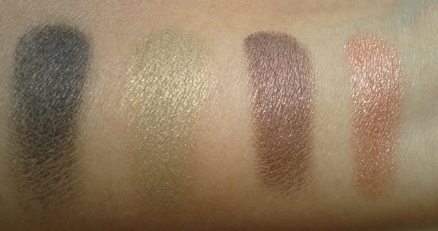 Coastal Scents Go Palette - Beijing swatches