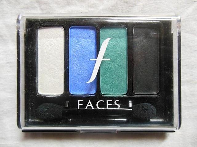 Faces+Go+Chic+Eye+Shadow+Quad+in+Aquamarine+Review